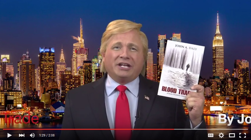 Donald Trump endorses BLOOD TRADE