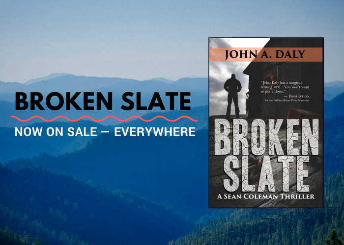 Broken Slate — Now on Sale